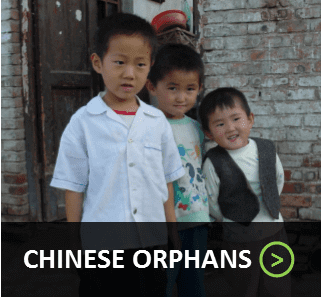 Chinese Orphans - Button